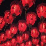 Chinese-Lanterns-illuminated-at-night